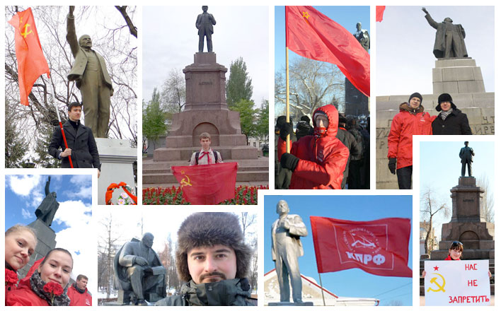 Марат Музаев: «Селфи с Лениным» - это акция, призванная усилить интерес к великой личности и к советской истории