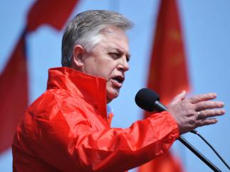 Заявление лидера Компартии Украины Петра Симоненко