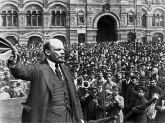 Ленин жил. Ленин жив. Ленин будет жить