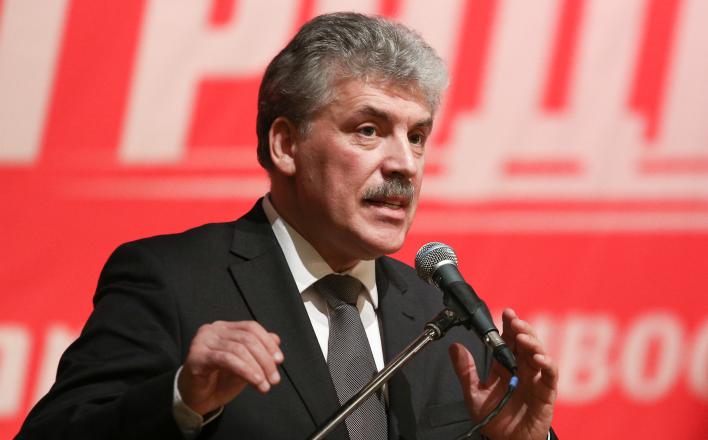 В Белоруссии батька Лукашенко, в России — Павел Грудинин
