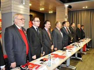 Российские коммунисты проводят в Свердловске семинар-совещание партийного актива