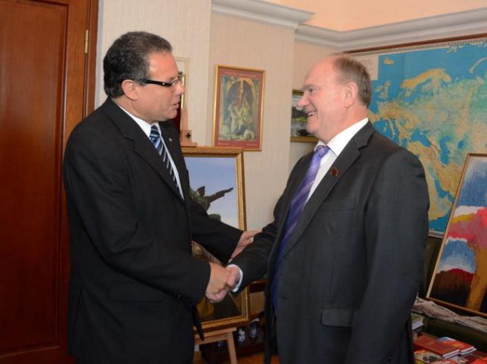 Геннадий Зюганов встретился с дипломатами из Республики Уругвай