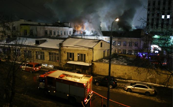 Один столичный пожар как плод глобализации